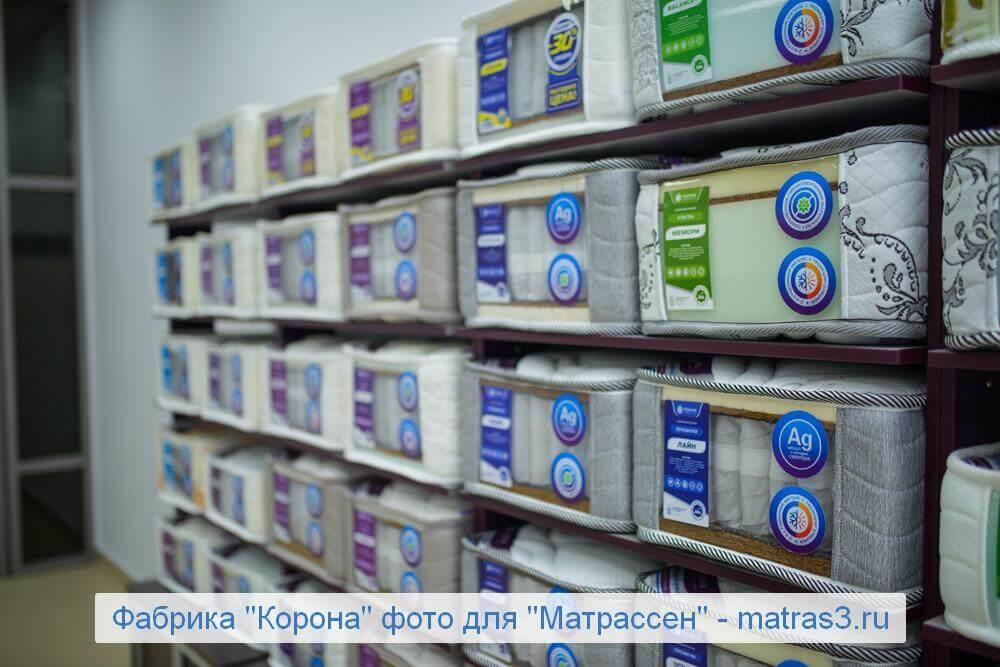 Матрасы Корона каталог