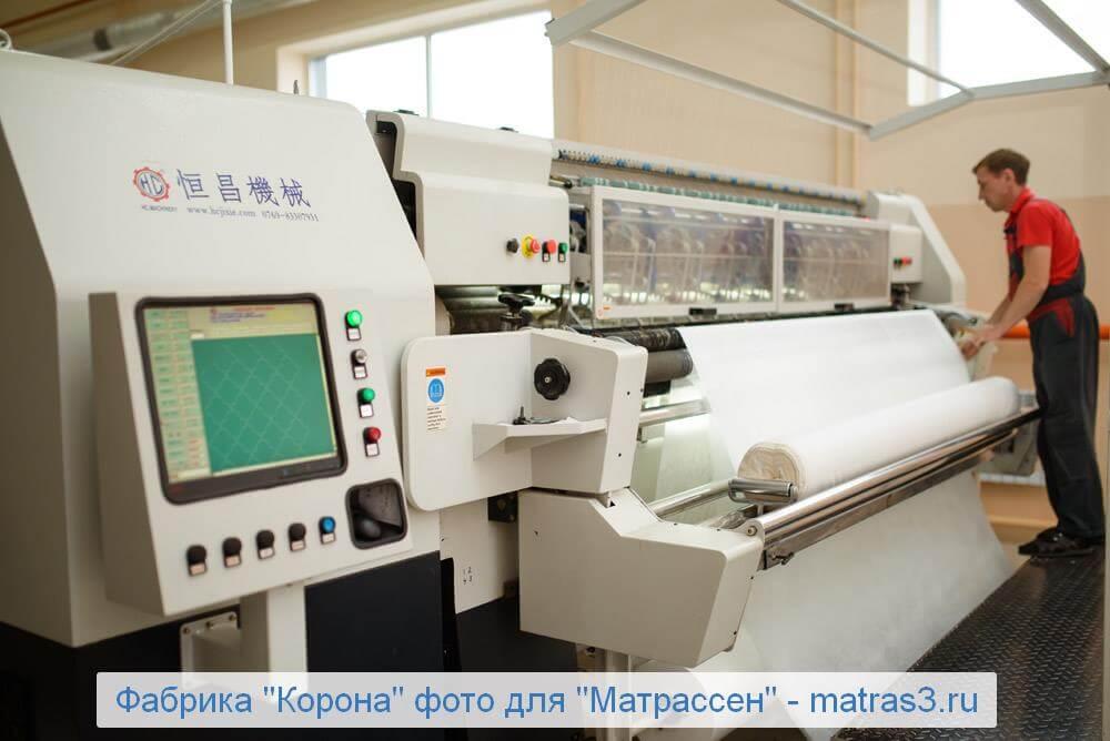 Фабрика матрасов Корона