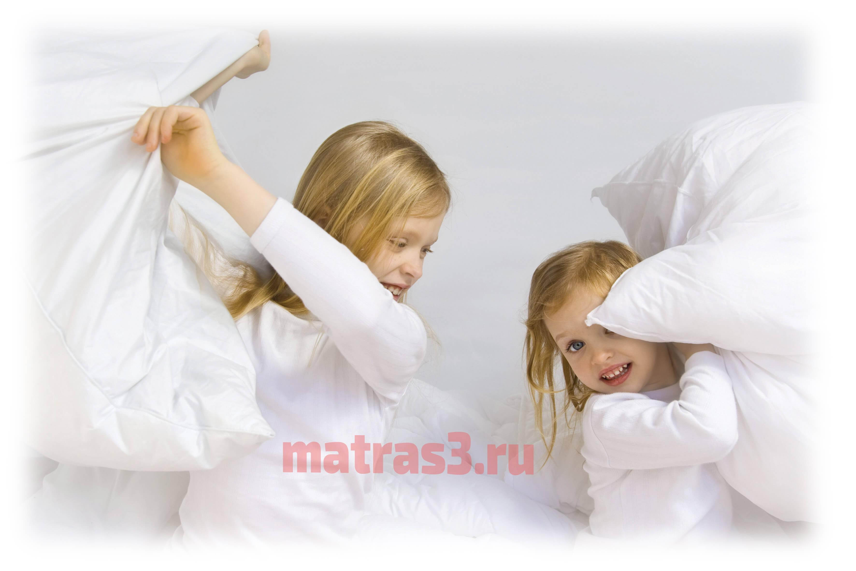 Какой матрас лучше выбрать для ребенка?