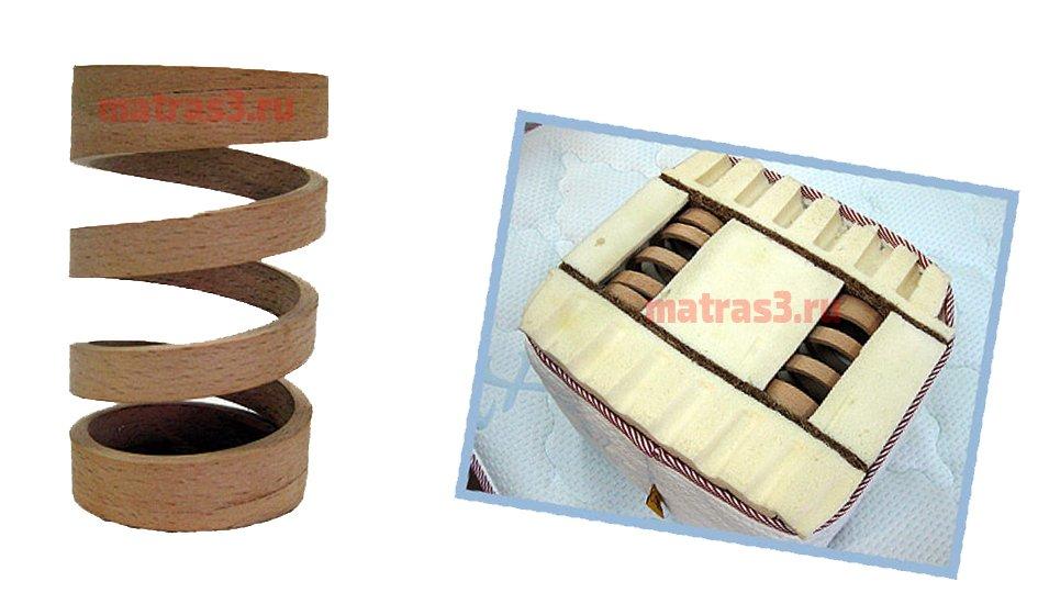 матрасы с деревянными пружинами в Уфе